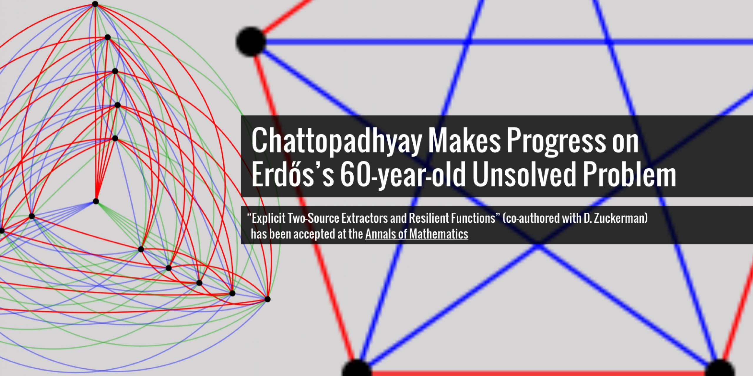Chattopadhyay Makes Progress on Erdős's 60-year-old Unsolved Problem