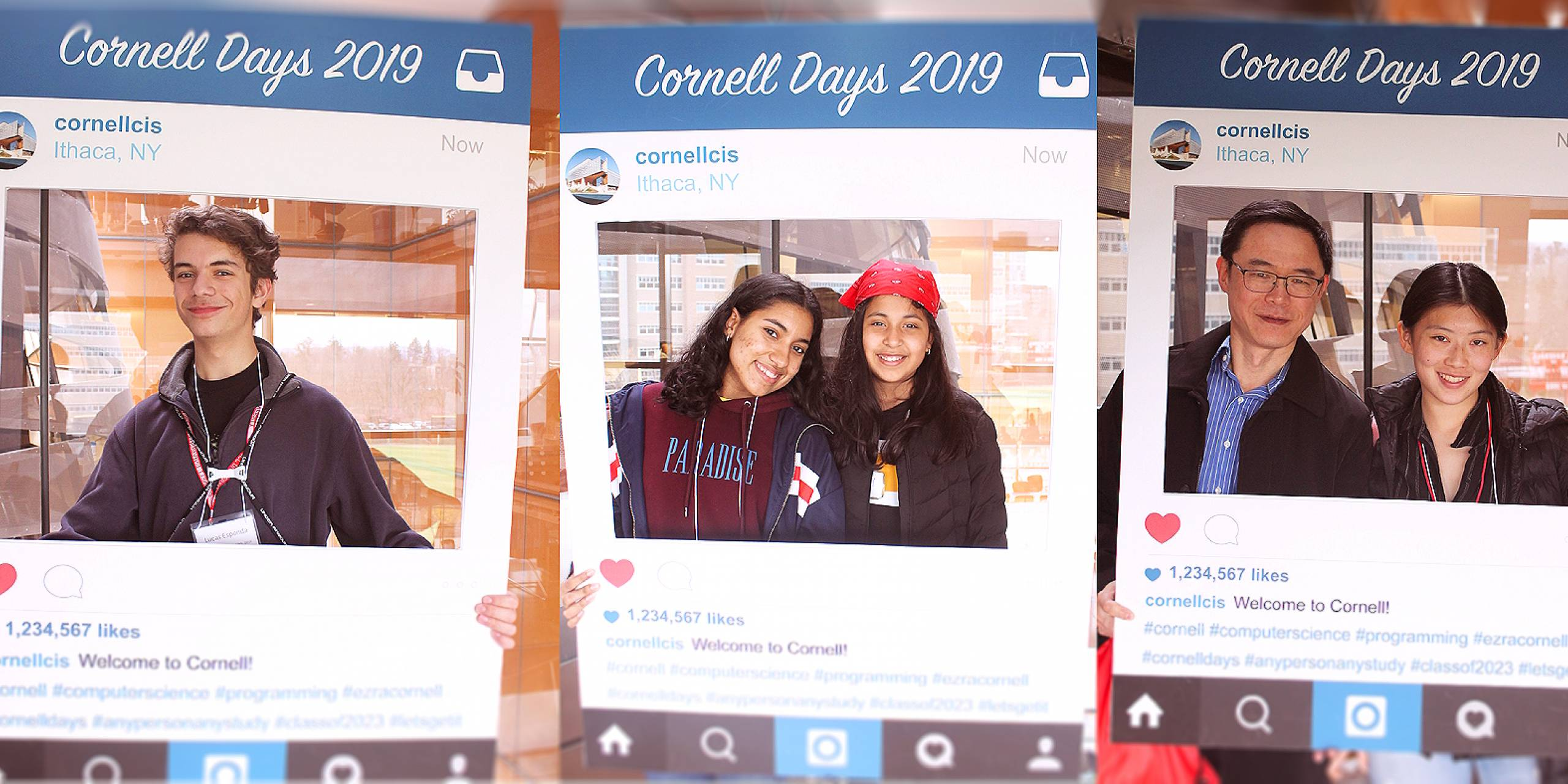 Cornell Days with CS Photo Booth