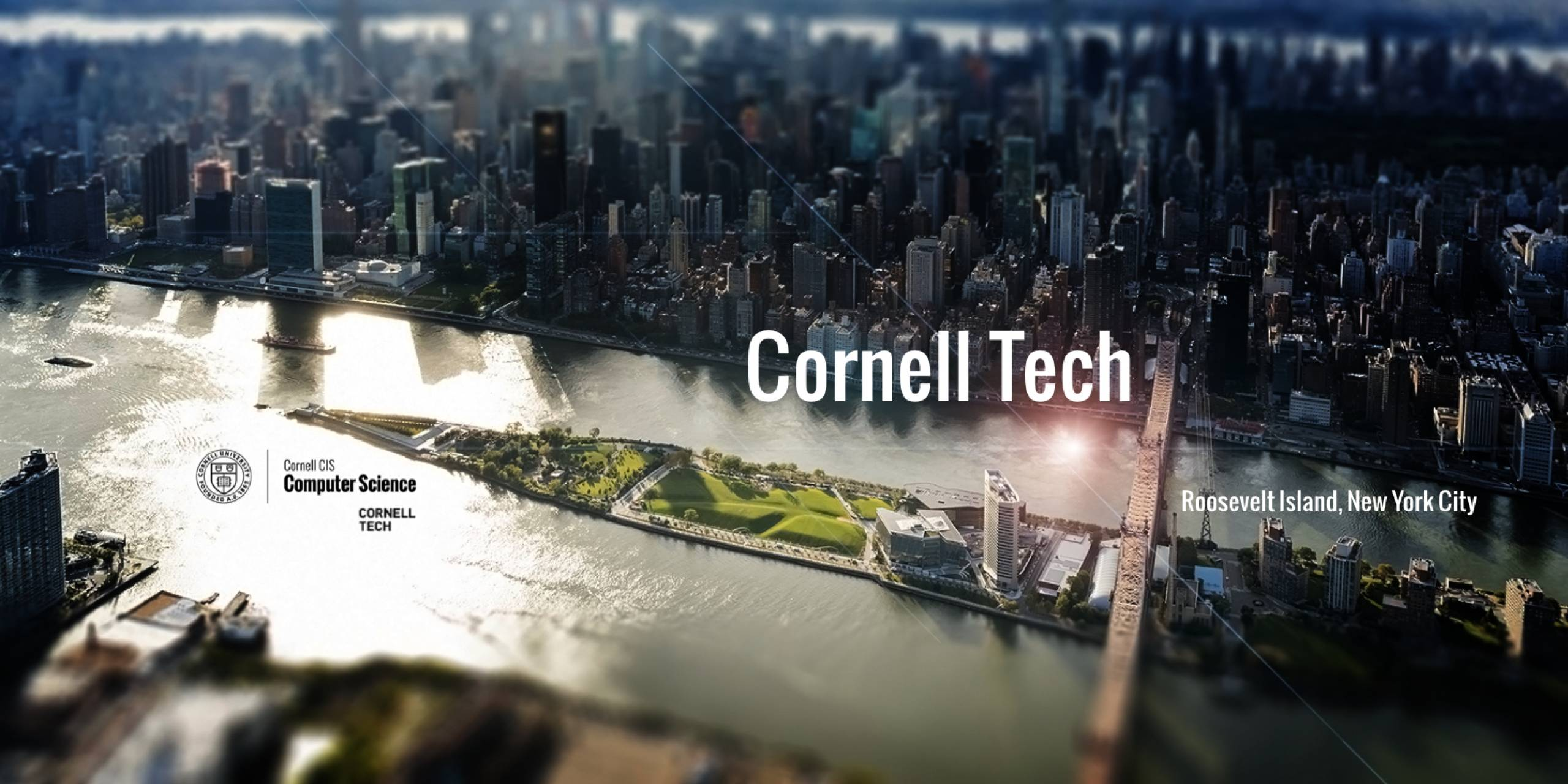 Cornell Tech aerial