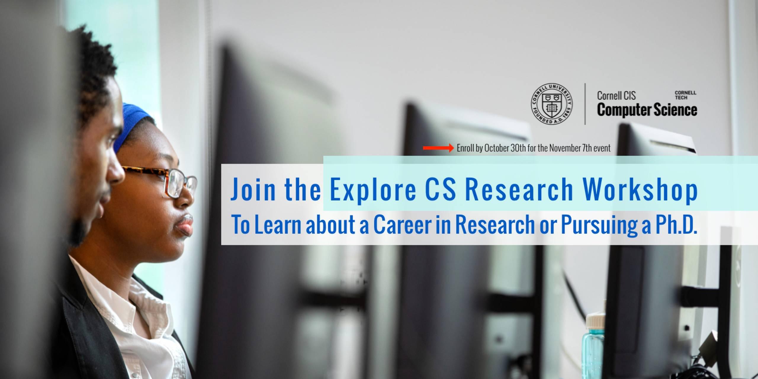 Explore CS Research Workshop