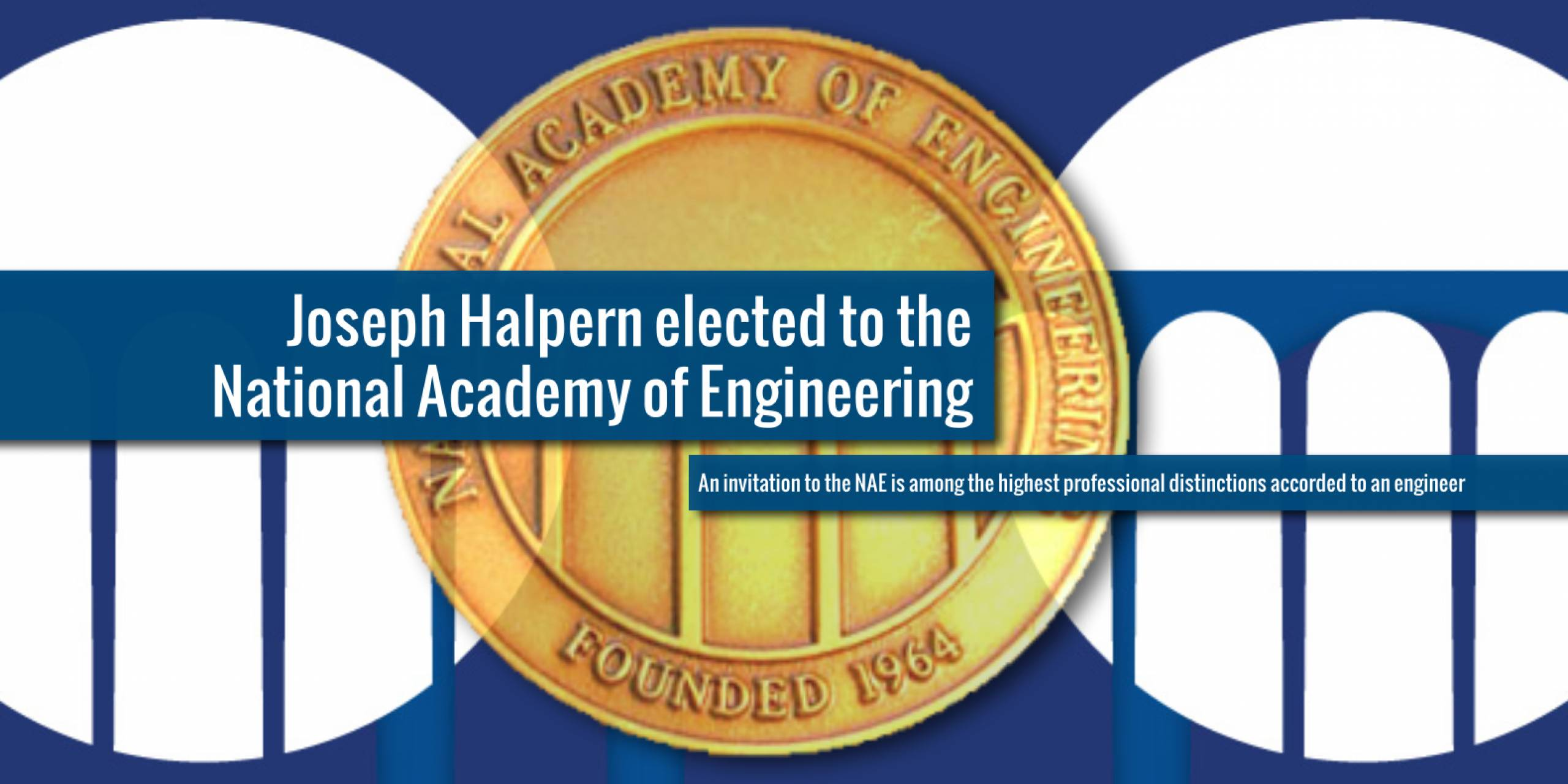Joseph Halpern elected to the National Academy of Engineering