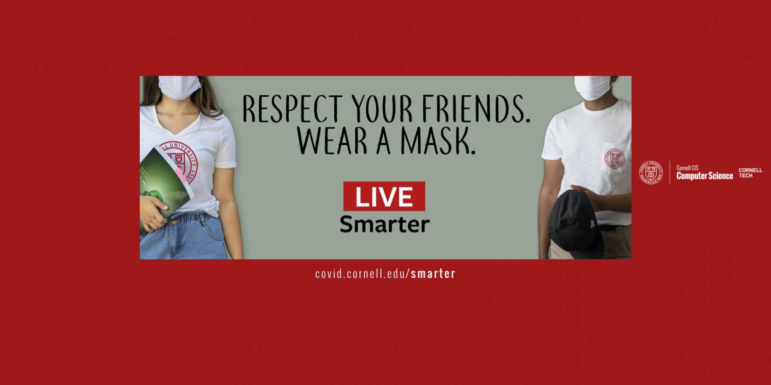 Live Smarter, Wear a Mask