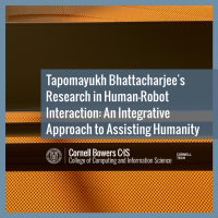 Tapomayukh Bhattacharjee's Research in Human-Robot Interaction: An Integrative Approach to Assisting Humanity