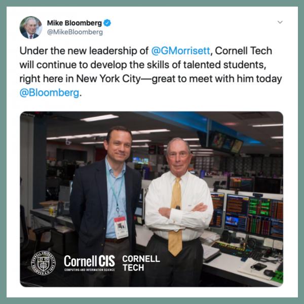 Bloomberg with Morrisett