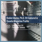 Rediet Abebe, Ph.D. '19 Featured in Quanta Magazine Profile