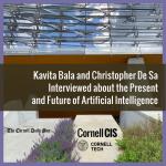 Bala and De Sa Interviewed about AI