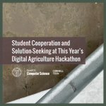 Student Cooperation and  Solution-Seeking at This Year's  Digital Agriculture Hackathon