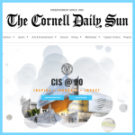 The Cornell Daily Sun Reports on CIS@20
