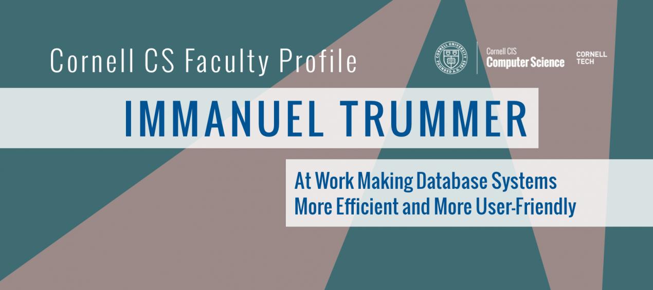 Faculty Profile: Immanuel Trummer
